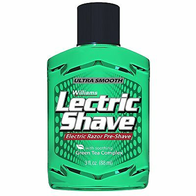 Lectric Shave Pre-Shave Original 3 oz With soothing Green Tea Complex