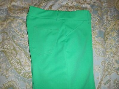 "Vintage H Bar C California Ranchwear Western Style Women's Pants 32"" waist GREEN"