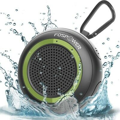 TWS Waterproof Portable Bluetooth Stereo Speaker Outdoor Wireless Shower Loud