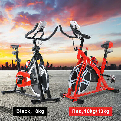 Exercise Spin Bike Fitness Home Gym Bicycle Flywheel Cycling Aerobics Sporting