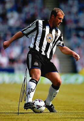 Alan Shearer Signed 12X8 Photo GENUINE England Newcastle AFTAL COA (1718)