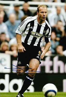 Alan Shearer Signed 12X8 Photo GENUINE England Newcastle AFTAL COA (1721)