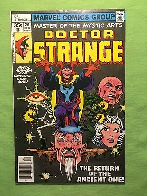Doctor Strange #26 (Dec 1977, Marvel) NM
