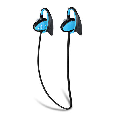 IPX8 In-Ear Sport Wireless Bluetooth Earbuds Headphones Headset Sweatproof