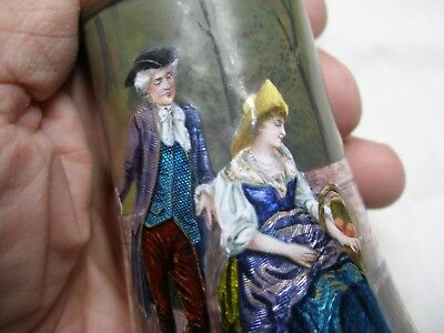 French, Enamel On Copper,  Vase? , Signed, Late 19Th Century.  Read Description.