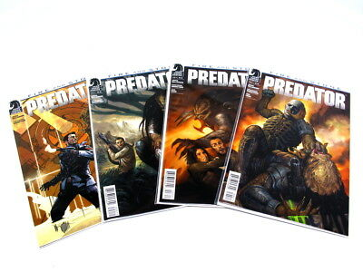 Dark Horse Predator Fire And Stone Complete Set 1-4 Nm #1 Variant