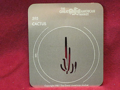 GAM 595 Cactus Gobo Standard Size A  Great American Market