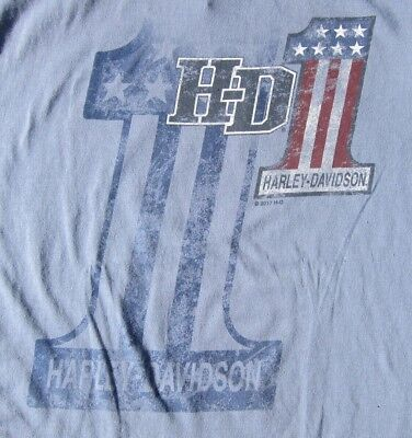 Dudley Perkins Co. Harley-Davidson Classic #1 T Shirt BRAND NEW