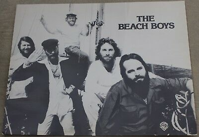 Vintage The Beach Boys Warner Brothers Poster Album Promo Record Store Display