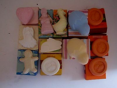 Lot Of 13 Avon Hostess Soap Sets. Vintage. NOS. Holiday. Easter, Fall, Angel, Xm