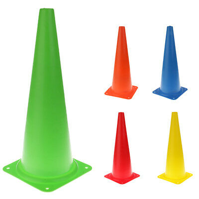 "Perfeclan 18.9"" Traffic Cone Road Safety Parking Cone Soccer Training Cone"
