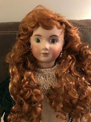 """27"""" Rare antique Reproduction Bebe Jumeau 2624 doll By Colleen Hendrix, KAIS"""