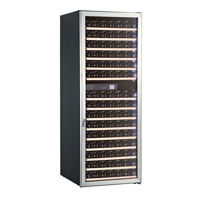 Wine Fridge Dual Zone Approx. 155 Bottles 598x690x1600mm Cabinet Collection
