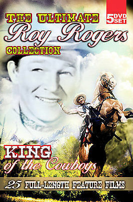 Roy Rogers:The King Of The Cowboys-Ultimate Roy Rogers Collection-DVD-2007 LN
