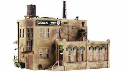 Woodland Scenics PF5204 N Scale Sicken Tire Company Building Kit
