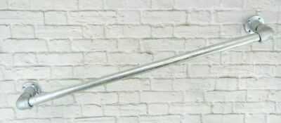Handrail Grab rail Galvanised 33.7 x 1000mm Mobility Safety Industrial Loft