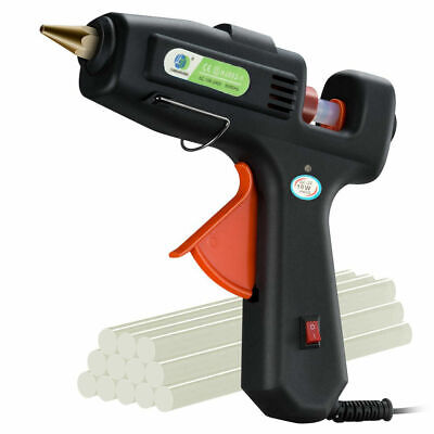 10W Electric Heating Hot Melt Glue Gun Trigger Art Craft Repair Home DIY Tool UK