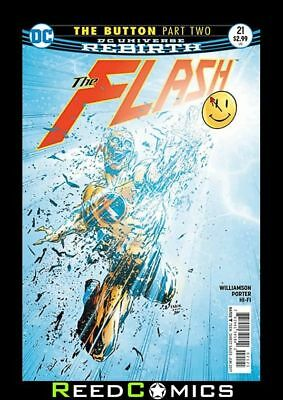 FLASH #21 (THE BUTTON) US STANDARD 2D COVER *IN STOCK NOW* Boxed Securely