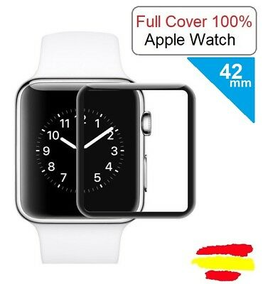 42mm Iwatch Apple Watch Cristal templado protector Pantalla FULL 100% Serie 2 3