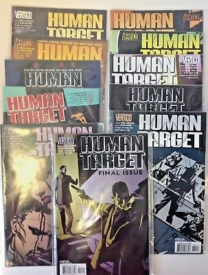 Human Target Comic Books - No 11 12 13 14 15 16 17 18 19 20 21 Vertigo Comics