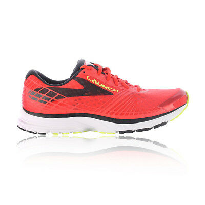Brooks Mens Launch 3 Running Shoes Trainers Sneakers Red Sports Breathable