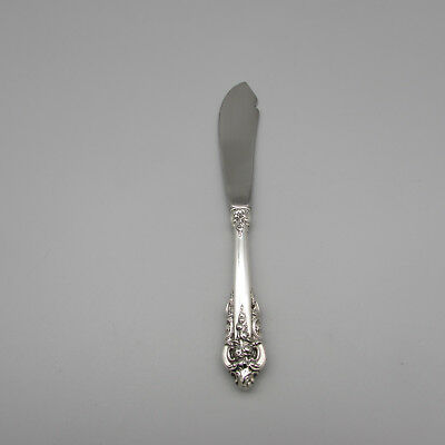 Wallace Sterling Silver GRANDE BAROQUE Master Butter Knife (s) *