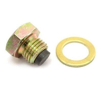 Motorcycle Magnetic Oil Drain Plug Sump M14 x 1.25 Suzuki AN 400 S  2005-2006