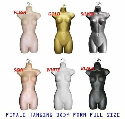 Female Hanging Mannequin Full Body Form Bust Shop Display