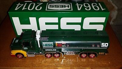 """NIB"" 2014 50th Anniversary Hess Truck Rare Collectors Limited Numbered Edition"