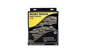 Woodland Scenics C1136 Shelf Ready Rocks