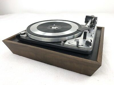 Dual 1019 Vintage Turntable Powers On No Further Testing Germany Good Cosmetic