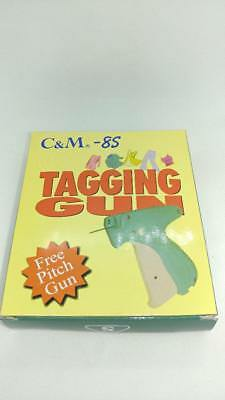 CLOTHING PRICE LABEL TAGGING TAG GUN FASTENERS PACKAGE W C&M-8S WITH 200 pins