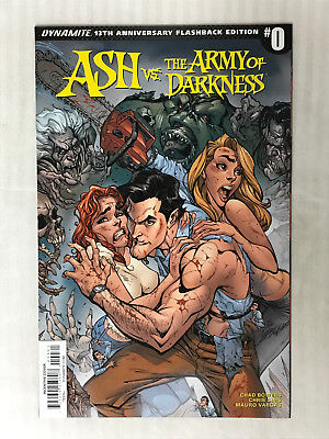 Ash vs. The Army of Darkness #0 - 1:50 Variant! VF/NM - J. Scott Campbell Cover!