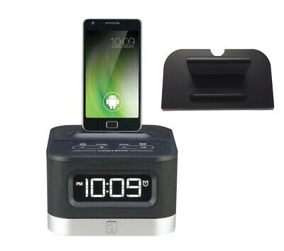 IHOME IDN38 DUAL Charge Play FM Stereo Dual Alarm Clock