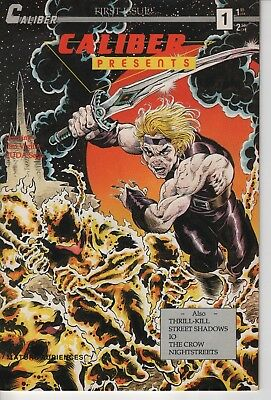 Caliber Presents #1 1st appearance of the Crow
