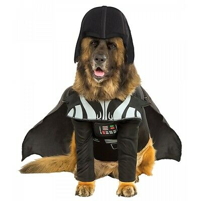 Darth Vader Dog Star Wars Sith Lord Doggy Halloween Pet Costume