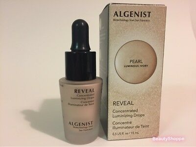 Algenist Concentrated Luminizing Drops Pearl Luminous Ivory Liquid Highlighter