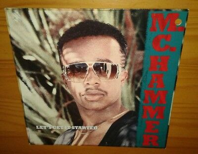 M.C. Hammer, Let's Get It Started, 1988 VINYL LP (EX) COVER VG+