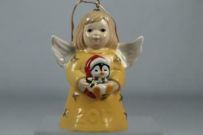 Goebel Annual 2017 Sunflower Angel Bell Ornament 42nd Edition #G112301 New In Bx