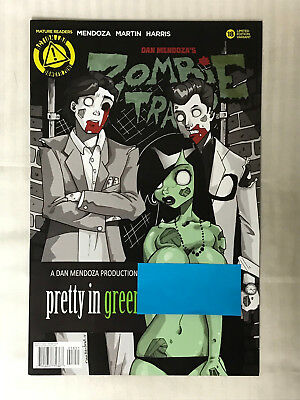 Zombie Tramp #18 - Risque Cover! VF - Dan Mendoza Cover!