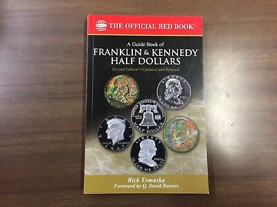 A Guide Book of Franklin & Kennedy Half Dollars, 2nd Ed (Red Book Series) NEW!!!