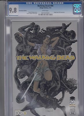 Image The Walking Dead # 94 Expo 2012 Exclusive Convention Edition Cgc 9.8 Nm/m