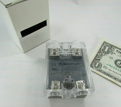 New Box Magnecraft Solid State Relays 3-32 VDC Input, 40-280 VAC Load W6210DSX-1