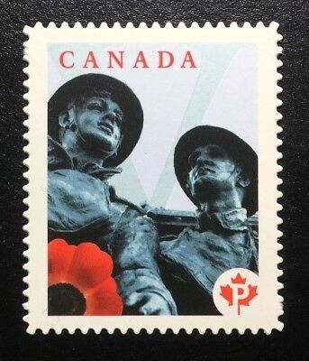Canada #2342i Die Cut MNH, Lest We Forget Stamp 2009