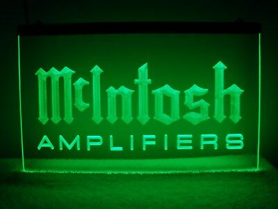 McIntosh Amplifiers LED Sign Green