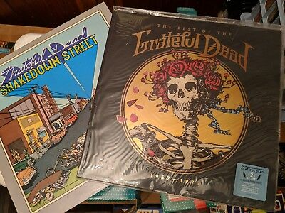 Grateful Dead lot of 2 Mint Sealed Best of 67-77 Rhino 2015 and Shakedown St NM