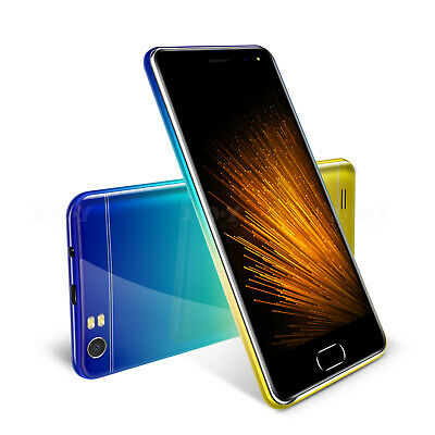 """5.0"""" 5MP Android 7.0 Cell Phone Unlocked 3G Cheap Smartphone 4Core Dual SIM GPS"""