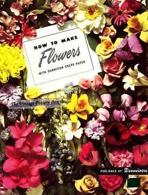 How To Make Paper Flowers / Pdf Book Emailed