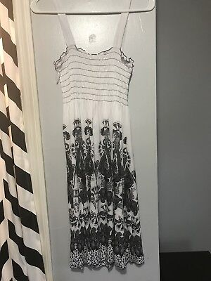 b8d3da720c NWT SUMMER ACE FASHION White Embroidered Dress Top Plus One Size 1X ...
