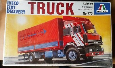 Italeri Nr.775 Iveco Fiat Delivery Truck 1:24 OVP 80er Jahre